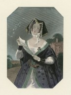 Mistress Ford, Shakspeare gallery, [character in Shakespeare's] Merry wives of Windsor [graphic] / K. Meadows ; H. Cook.