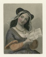 Mrs. Ford [character in Shakespeare's] Merry wives of Windsor ... [graphic] / Edwd. Corbould ; F. Holl.