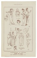 Illustrations of costume, Romeo and Juliet [graphic] / from sketches by E.W. Goodwin F.S.A.