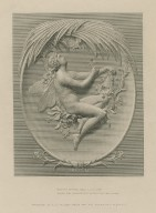 """Ariel [in The tempest]: """"Merrily, merrily shall I live now..."""" [graphic] / engraved by H.C. Balding, from the bas-relief by F. M. Miller."""