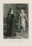 Viola and Olivia, Olivia: We will draw the curtain and show you the picture ... Twelfth night, act I, sc. 5 [graphic] / C. Green pinxt. ; G. Greatbach sculpt.