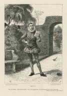 Malvolio, Malvolio (reads): Some are born great, some achieve greatness, and some have greatness thrust upon 'em, Twelfth night, act II, scene 7 [i.e. sc. 5] [graphic] / drawn by William Ralston ; engraved by J. Quartley.