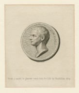 Edw. Capell [graphic] / F. Bartolozzi, del. et sculps. ; from a model in plaister taken from the life by Roubilliac 1759.