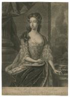 Her highness Princess Carolina, third daughter to his Majesty King George 2d ... [graphic] / H. Hysing, ad vivum pinx. ; John Faber.