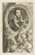 Robert Devereux Earl of Essex 1601 [graphic] / I. Oliver, pinx ; J. Houbraken, sculp.