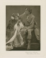 Ferdinand and Miranda (Basil Gill and Nora Kerin) [in Shakespeare's Tempest, Act 4, scene 1] [graphic] / photo, J. & L. Caswall Smith.