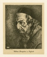 Walter Hampden as Shylock [graphic] / Bert Sharkey.
