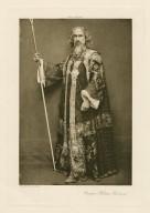 [William Haviland as] Prospero [in Shakespeare's Tempest] [graphic] / photo. J. & L. Caswall Smith.