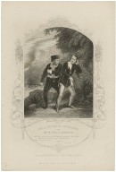 Mr. A. Younge as Stephano and Mr. H. Nye as Trinculo ... [in Shakespeare's Tempest, act 3, sc. 2] [graphic] / engraved by G. Greatbach ; from a daguerreotype by Mayall.