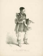 Mr. C. Kemble in the character of Bassanio, Merchant of Venice [by Shakespeare] [graphic] / [M.R.].