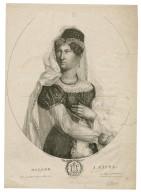 Madame J. Pasta, dans Otello [by Verdi] rôle de Désdemona ... [graphic] / David Pradier del. ; imp. lith de Villain.