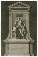 A monument to the memory of ... Shakspear ... set up in Westminster Abbey ... [graphic] / Ch. Delaffontaine del. ; Andreu Miller fect. 1741.
