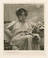 [Cleopatra, character in Shakespeare's play, Antony and Cleopatra] [graphic] / J.W. Waterhouse.