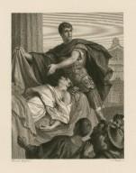 [Julius Caesar, act III, sc. II, Antony & Caesar's body] [graphic] / Heinrich Spiess, del. ; A. Krausse, sc.