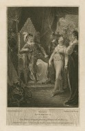 Third part of King Henry VI, act 5, scene 5, King Edward, Margaret, Gloucester & soldiers... [graphic] / painted by W. Hamilton R.A. ; engraved by Thos. Holloway.