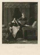 Queen Katherine (King Henry VIII) [act III, scene 1.] [graphic] / C. R. Leslie, R. A. pinxt. ; C. W. Sharpe, sculpt.