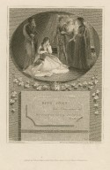 King John: Here I and sorrows sit ... act 3, sc. 1 [graphic] / painted by T. Stothard R.A. ; engraved by J. Heath.