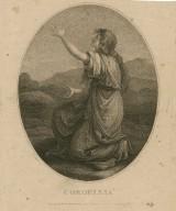 Cordelia [from King Lear] [graphic] / Anga. Kauffman, pinxt. ; Laneau, sculpt.