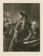 Richard II, act V, sc. VI [graphic] / Fr. Pecht, del. ; A. Krausse, sc.