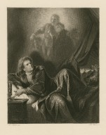 [Richard III, act V, sc. III] [graphic] / Fr. Pecht, del. ; Tob. Bauer, sc.
