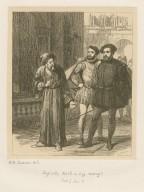 [Merchant of Venice, act 1, sc. 3, Shylock: Hath a dog money?] [graphic] / .