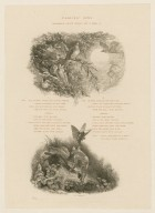 Fairies' song, Midsummer night's dream, act 2, scene 3 [i.e. 2] [graphic] / H.J. Townsend.