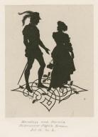 [A series of silhouettes illustrating Midsummer night's dream] [graphic] / P. Konewka ; A. Vogel sc.