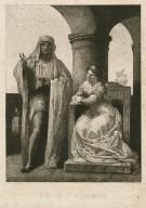 Othello et Desdemone [Othello, act I, sc. 3] [graphic] / peint par F. Chifflart ; grave par J. Soumy.
