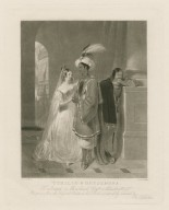 Othello & Desdemona [Othello, act II, sc. 1] [graphic] / H. Liverseege ; J. E. Coombs.