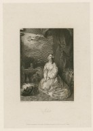 Juliet [character in Romeo and Juliet] [graphic] / painted by Miss Sharpe ; engraved by J.C. Edwards.