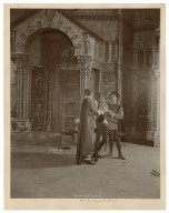 Romeo and Juliet, Maude Adams, Wm. Faversham, J.K. Hackett [7 photographs of a production by Charles Frohman at the Empire Theatre, New York, in 1899] [graphic] / Byron.