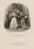 Two gentleman of Verona, act 4, sc. 4 [graphic] / painted by J. Stephanoff ; engraved by J. [i.e. H.] C. Shenton.