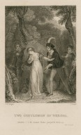 Two gentlemen of Verona, Silvia: I do detest false perjur'd Proteus, act V, sc. IV [graphic] / J.M. Wright ; C. Heath.