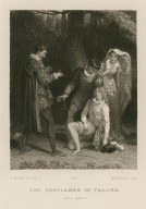 Two gentlemen of Verona, act 5, scene 4 [graphic] / R. Westall R.A. del. ; W. Humphrys sculp.