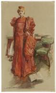 Miss Ellen Terry as Portia [in Shakespeare's Merchant of Venice] [graphic] / [Howard Chandler Christy].