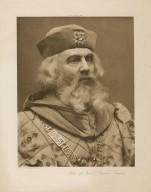 John of Gaunt (Brandon Thomas) [in Shakespeare's Richard II] [graphic] / photo, J. & L. Caswall Smith.