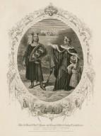 Mr. & Mrs. Chas. Kean as King John & Lady Constance [graphic] : [in Shakespeare's King John].
