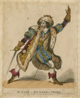 Mr. Kean as Richard the third [in Shakespeare's King Richard III] [graphic].