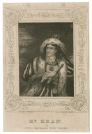 Mr. Kean as King Richard the Third [by Shakespeare] [graphic] / drawn by T.O. Steeden ; engrd on steel by J. Rogers.