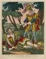 Mr. Kean as Richard the III'rd ... [in Shakespeare's King Richard III] [graphic].