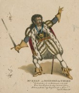 Mr. Kean as Richard the Third ... [in Shakespeare's King Richard III] [graphic].