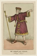 Mr. Kean as Lear in King Lear [by Shakespeare] [graphic].