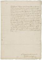"Letter from Richard Cavendish, ""Grymston haule in Suffolke"" (i.e. Grimston End, Suffolk?), to Elizabeth Hardwick Talbot, Countess of Shrewsbury"