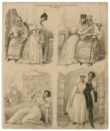 The attitudes of Miss Fanny Kemble as Juliet [in Shakespeare's Romeo and Juliet] [graphic].
