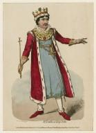 Mr. Kemble as King John [in Shakespeare's King John] [graphic] / Cruikshank sct.