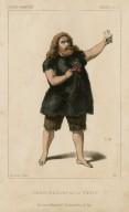 Lablache, role de Caliban, dans La Tempesta [Halévy's operatic version of Shakespeare's play] [graphic] / lith. Decan ; A.L.