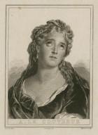 A. Le Couvreur [as Cornélie, in R. Garnier's tragedy, Cornélie] [graphic] / Deveria, del. ; Migneret, sculp.
