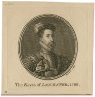 The Earl of Leicester, 1588 [graphic] / Benoist sculp.