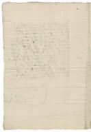 Letter from Susan (Bertie) Grey, Countess of Kent, to Elizabeth Hardwick Talbot, Countess of Shrewsbury