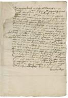 Letter from Elizabeth (Leake) Leche, to Lady Elizabeth St. Loe